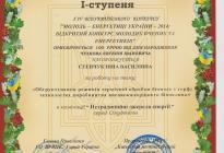 Диплом Степчук 2015 рік