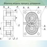 Исследование процесса каскадной дисково-шестерённой экструзии