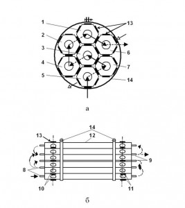 IMPROVED DESIGN sectional tube heat exchangers