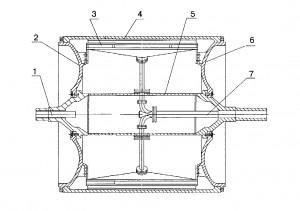 LOSCHYLNYY paper machine CYLINDER FOR MAKING SANITARY PAPER