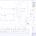 Установка виробництва ітакової кислоти з  розробкою ферментера, вакуумного апарату та центрифуги